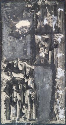Mario Sironi, Composition with sketch, ca. 1940