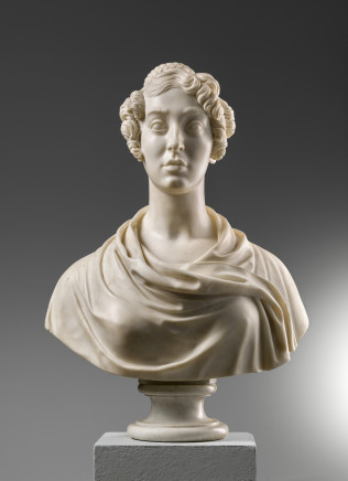 Pompeo Marchesi, Female Bust , 1835