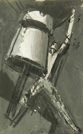 Mario Sironi, Study for an illustration, 1925 circa