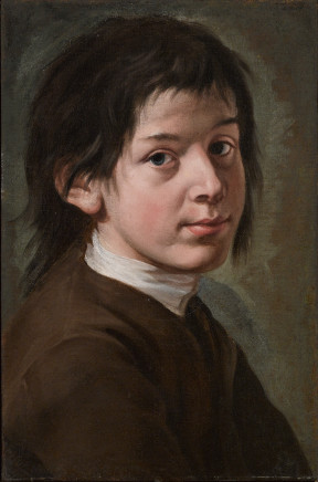 Giacomo Ceruti, Portrait of a Young Man, 1735-40