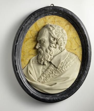 Gerolamo Ticciati, Profile of Galileo Galilei, 1730 circa