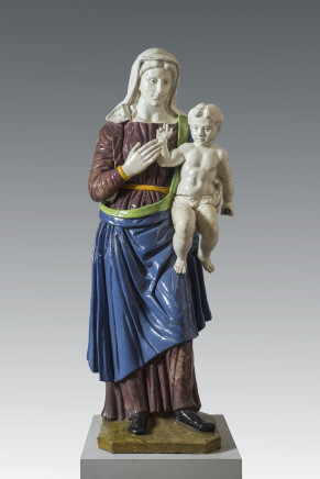 Santi Buglioni (Santi di Michele), Madonna with Child, Florence, ca. 1520