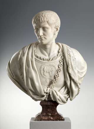 Italian Sculptor 17th / 18th century, Bust of Caligula