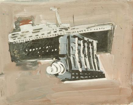 Mario Sironi, Sketch for a project, ca. 1939