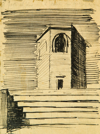 Mario Sironi, Tower, ca. 1921