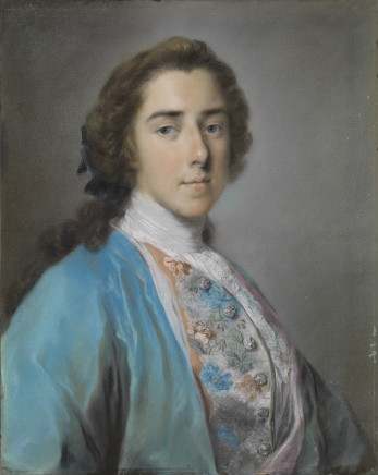 Rosalba Carriera, Portrait of Henry Fiennes Pelham-Clinton, 9th Earl of Lincoln and 2nd Duke of Newcastle, 1741