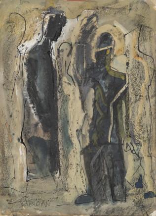 Mario Sironi, Figures, Mid-1950s