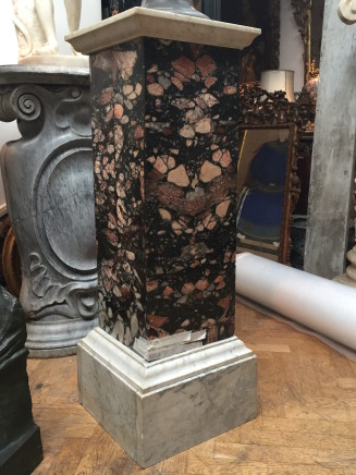 An Africano marble column, End of 19th Century