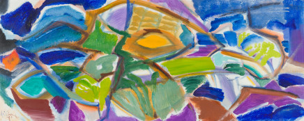 Ivon Hitchens, Green Shades in a Green Wood, 1970