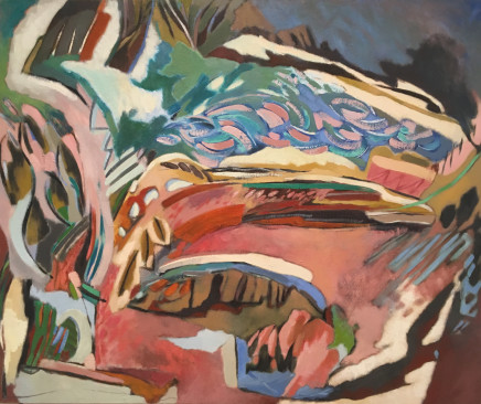 Olivia Stanton, Landscape Pink and Green, 1995
