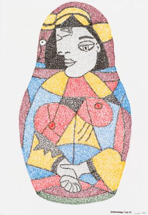Irene Lees, Dora Maar No.5, 2019