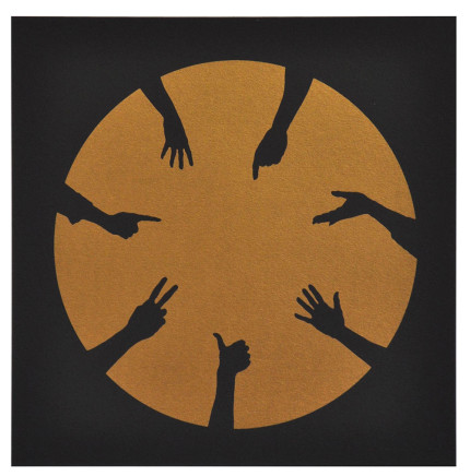 Nicola Green, Circle of Hands I, 2013