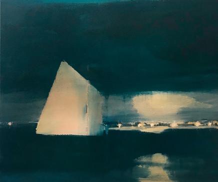 Pippa Blake, Twilight Passage, 2018