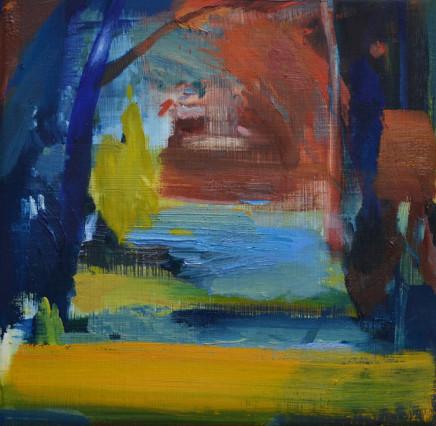 Calum McClure, Blue Tree, Sussex, 2019