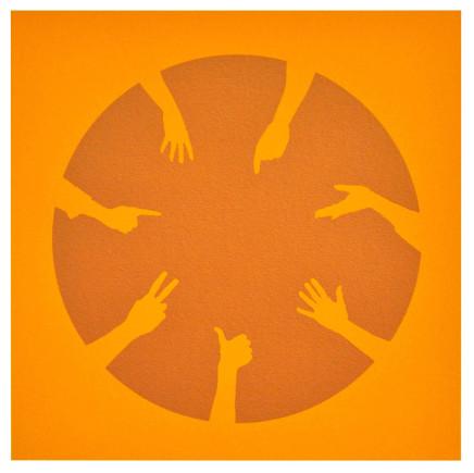 Nicola Green, Circle of Hands IV, 2013