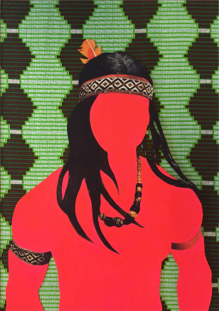 Nicola Green, Carnival, Silver Thread, 2016