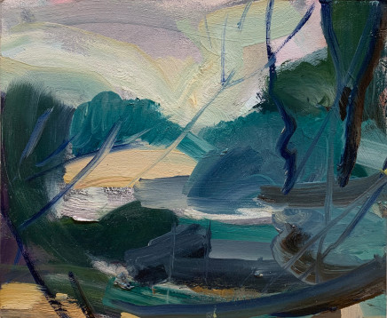 Lindy Guinness, Lake Gestures, 2019