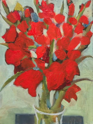 Katie Sollohub, Glad Gladioli in the Sun 2, 2017