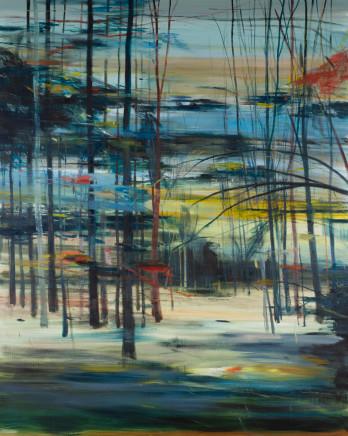 Calum McClure, Moon Through The Trees, 2019