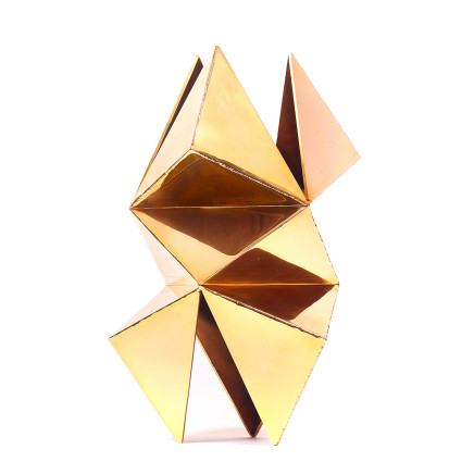 Will Nash, Gold Isosceles, 2018
