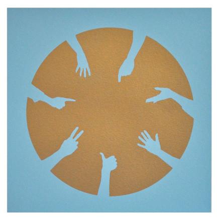 Nicola Green, Circle of Hands III, 2013