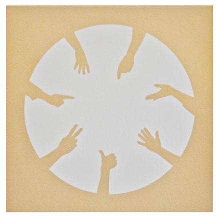 Nicola Green, Circle of Hands II, 2013