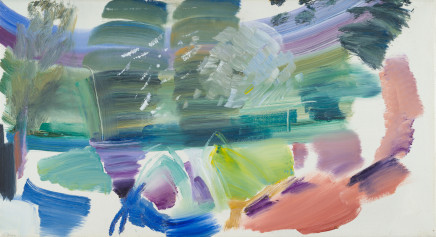 Ivon Hitchens, Willows and Water, 1976