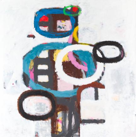Peter Waldron, Totem Painting 3, 2012/13