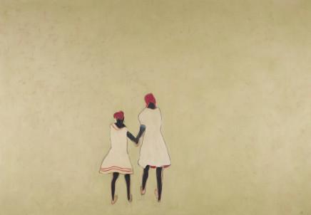 Anne Rothenstein, Two Girls, 2019