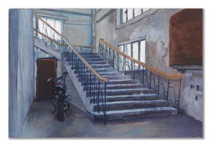 Gao Yuan 高源, Stairway 楼梯口, 2010