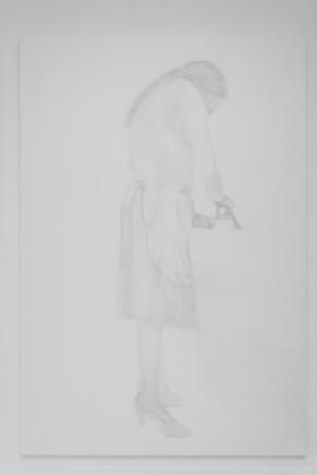 Qin Jin 秦晋, Person Ironing -1 熨衣服的人-1, 2015