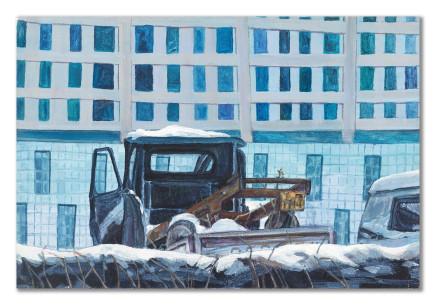 Gao Yuan 高源, Abandoned Truck 废车, 2010
