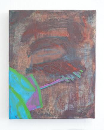 Sarah Faux, Untitled (lashes) 无题(睫毛), 2018