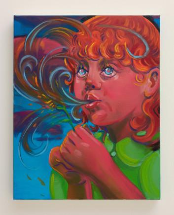 Haley Josephs, Spiral Bubble, 2018