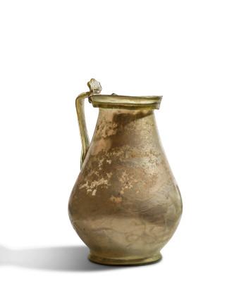 Roman glass tankard, 3rd-4th century AD