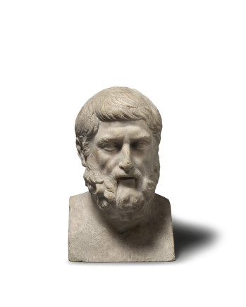 Roman bust of Hermarchus, 2nd century AD