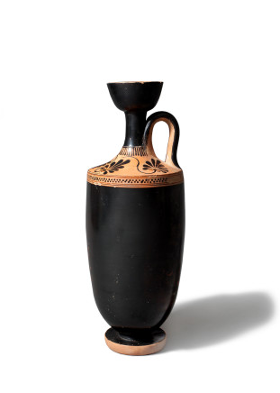 Greek lekythos, possibly Group of the Bowdoin Painter, Athens, early 5th century BC