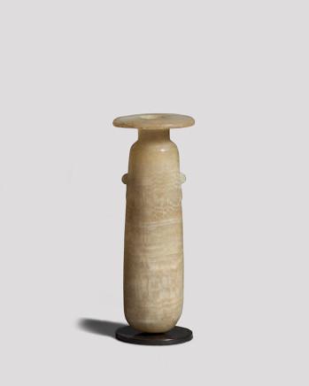 Egyptian alabastron, Late Dynastic Period, 26th Dynasty, c.664-525 BC