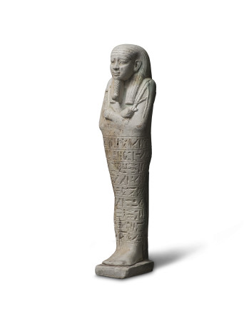 Egyptian shabti for Tious, Late Dynastic Period, 25th-31st Dynasty, 26th-27th Dynasty, c.664-404 BC