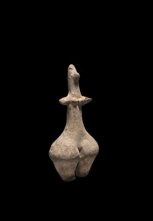 Amlash steatopygous female statuette, 9th-8th century BC