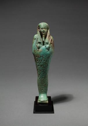 Egyptian shabti for Hor, Late Dynastic Period, 26th Dynasty, c.664-600 BC