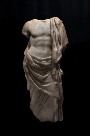 Roman statue of Asclepius, First half of the 2nd century AD, c.100-150 AD