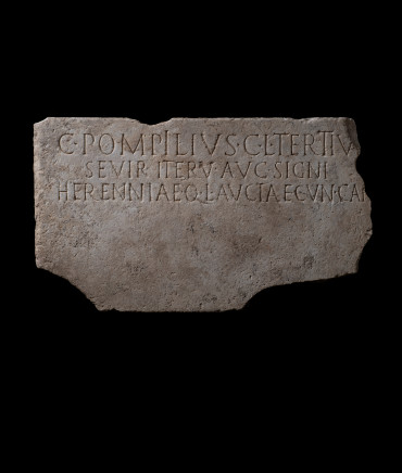 Large Roman inscription, 1st-2nd century AD