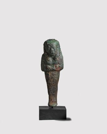 Egyptian shabti for Psusennes I, Third Intermediate Period, 21st Dynasty, c.1047-1001 BC