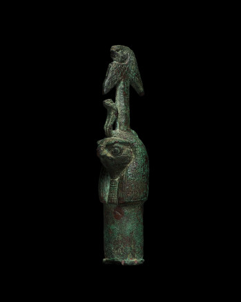 Egyptian Horus-headed harpoon, Late Dynastic Period, 26th-31st Dynasty, 747-332 BC