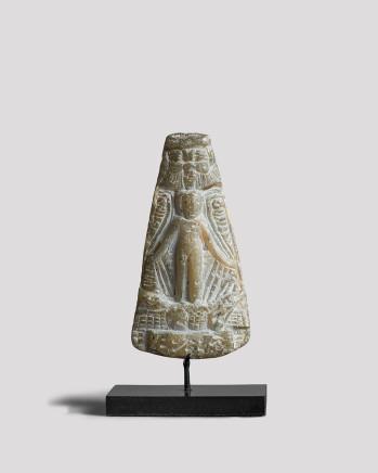 Egyptian small triangular cippus, Late Dynastic Period-Ptolemaic Period, c.400-30 BC