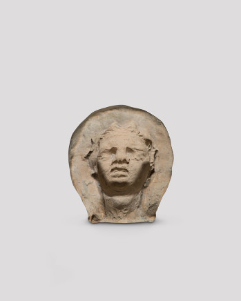 Hellenistic mould for female head, c.2nd century BC