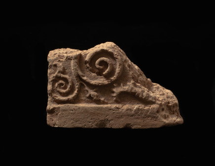 Roman architectural relief fragment, 1st century AD