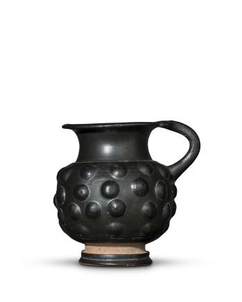 Greek black-glaze mug, Campania, Calene ware, c.350-300 BC