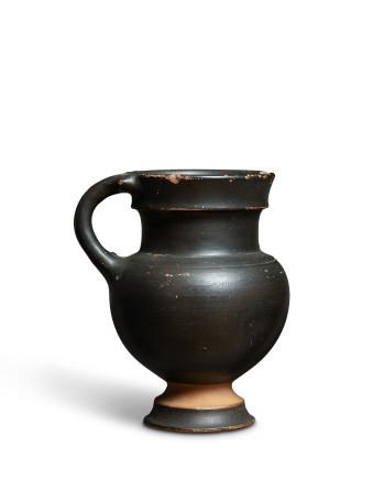 Greek black-glaze juglet, Campania, c.325-300 BC